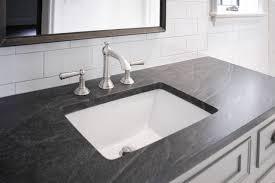 jet mist granite countertop transitional bathroom cr home design