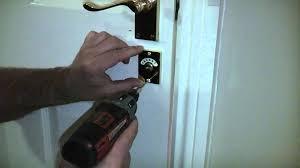 How To Unlock A Bathroom Door Knob Bathroom Door Locked Deaispace Com