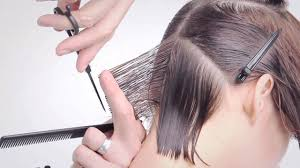 cutting a beveled bob hair style headmasters classics collection bevel bob youtube