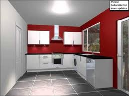 kitchen red red white kitchen the color red to your life youtube