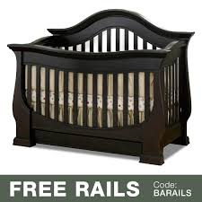 baby appleseed davenport 3 in 1 convertible crib in espresso free