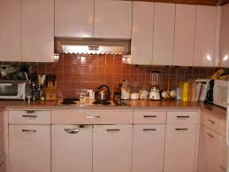 Metal Cabinets For Kitchen Painting Metal Cabinets On Painting Vintage Metal Kitchen