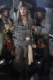 first photo of johnny deep as jack sparrow in pirates of the