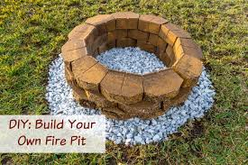 Diy Firepits Diy Build A Backyard Pit