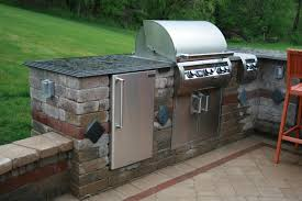 pittsburgh outdoor kitchens backyard built in gas bbq grill