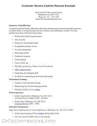 Resume Template For Customer Service Representative Resume Examples For Customer Service Position Resume Sample