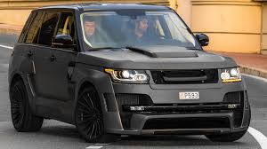 black and gold range rover hamann range rover mystere review driving and sound 2016 hq