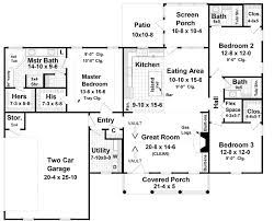 ranch home layouts weymouth hill ranch home plan 077d 0050 house plans and more