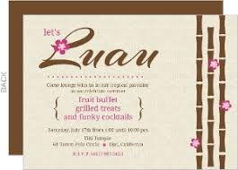 hawaiian themed wedding invitations cheap luau invitations invite shop