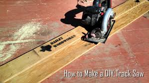 how to make a diy track saw youtube
