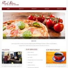 coffee shop mobile website template by w3layouts free restaurant