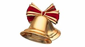 ribbon and bows beautiful gold bell christmas animation golden bell with