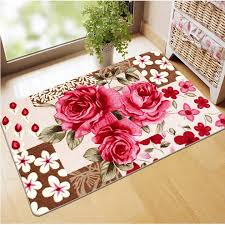 Rose Area Rug Mat Mat Picture More Detailed Picture About Rose Flower Carpets