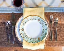 Shabby Chic Dinner Set by Bordered Dinner Plates Dining Room Shabby Chic Style With Gold