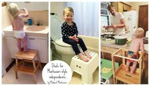 Toddler Stool For Kitchen by Midwest Montessori U2014 Step Stools For A Montessori Home