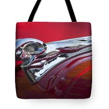 1950 dodge ram ornament tote bag for sale by reger