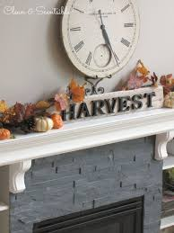 Decorating Your Home For Fall Fall Home Tour Clean And Scentsible