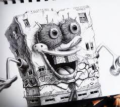 spench bob sketch by pez art no 688