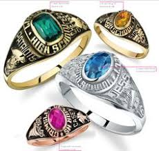 high school senior rings custom class ring from jostens achiever class ring