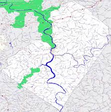 Map Of Wv Bridgehunter Com Summers County West Virginia
