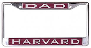 harvard alumni license plate frame harvard crimson license plates ivyleaguecompare