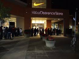 nike factory store black friday calm prevails at marina square san leandro ca patch