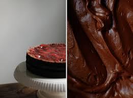 chocolate cake recipe strawberry u0026 chocolate layer cake recipe