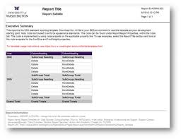 information technology monthly report template professional and