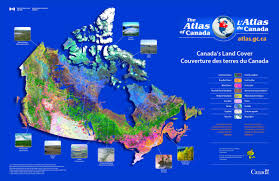 Map Canada by Canada Land Cover Map Canada U2022 Mappery