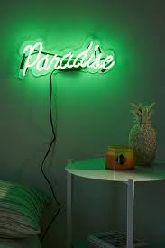 neon mfg paradise sign neon paradise and apartments