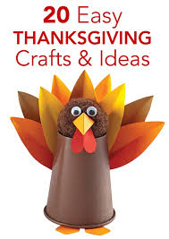 20 easy thanksgiving crafts and activities for