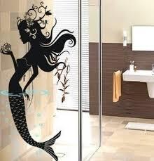 Bathroom Door Stickers Qoo10 Love Camry Mermaid Diy Wall Decals Glass Bathroom Door
