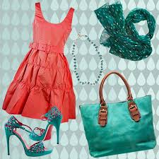 what to wear with bright colored shoes