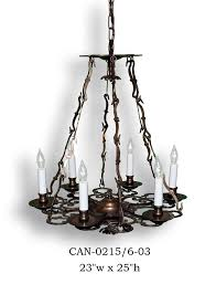 Gothic Chandelier Wrought Iron Chandeliers Graham U0027s Lighting