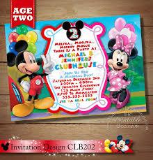 twin invite mickey minnie twins birthday invitation twins
