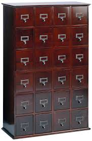 amazon com leslie dame cd 456w solid oak library card file media