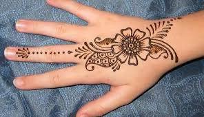 indian simple easy mehndi designs for beginners