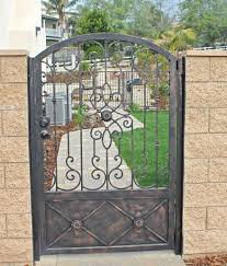 ornamental metal custom gates callandscape