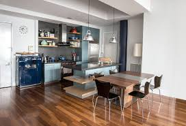 small kitchen island table 50 gorgeous kitchen designs with islands designing idea