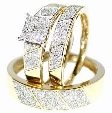 cheap wedding sets for him and wedding wedding band sets with diamond for bands him and