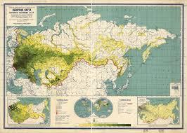 Population Density World Map by Population Density Map Of The Soviet Union 1929 Vivid Maps