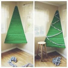 corner christmas tree 18 alternative christmas trees safe for toddlers