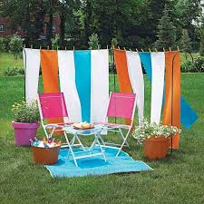 Cheap Awnings For Patio 20 Diy Outdoor Curtains Sunshades And Canopy Designs For Summer