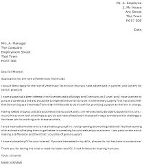 application letter doctor animal health technician cover letter 88 images 100 resume