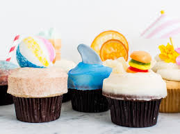cupcake toppers summer inspired cupcake toppers food network summer party