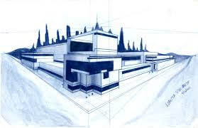 architect designs architecture design blueprint heap house d architectural designs