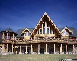 highlands log structures log homes exterior gallery