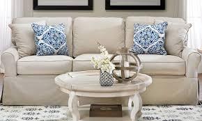 Sleeper Sofa by Montague Slip Covered Sofa Haynes Furniture Virginia U0027s