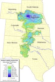 Colorado Usa Map by Ogallala Aquifer Wikipedia