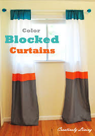 Yellow Curtains Nursery by Color Blocked Curtains Nursery Project 2 Creatively Living Blog